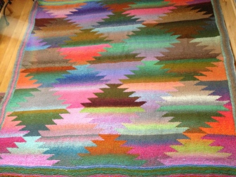 Pineapple Blanket by Kaffe Fassett