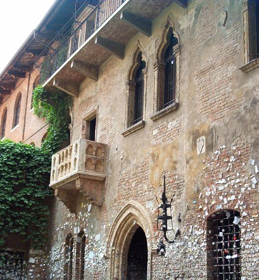 Juliets Balkony Verona