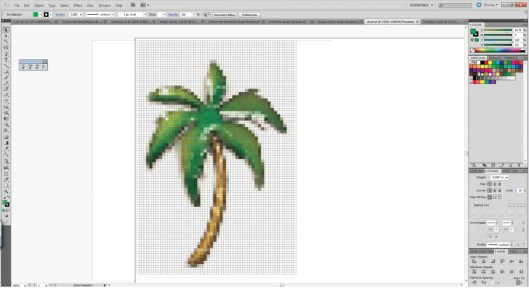Palmtree on Computer