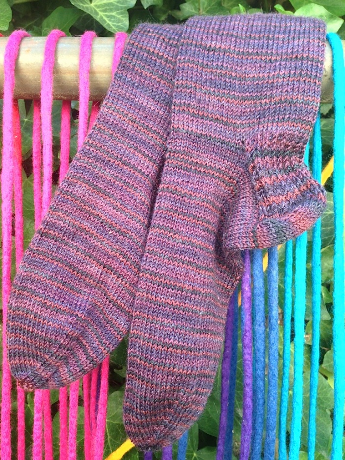 Pair of Socks in Rowan Yarns Fine Art