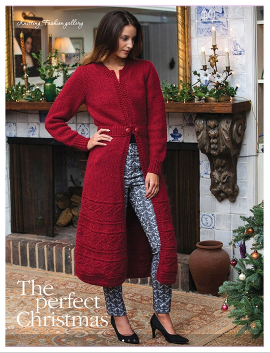 Retro Coat by Sirdar