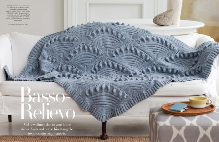 Crescant Blanket by Guiletta Yordonova