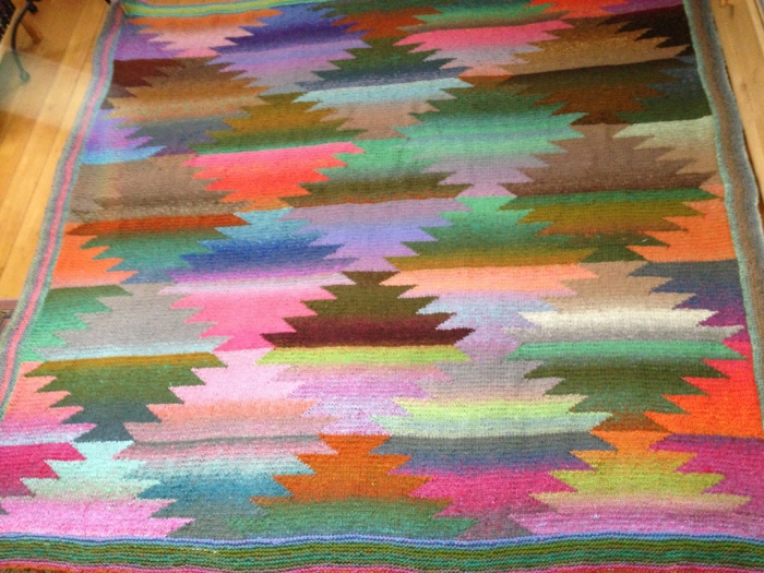 Pineapple Blanket by Kaffe Fasset and Brandon Mably