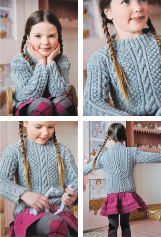 Aran sweater by Hamlyn