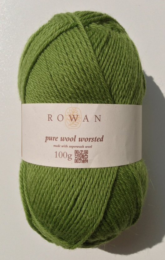 Rowan Pure Wool Worsted - Olive 125