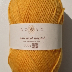 Rowan Pure Wool Worsted - Buttercup 132
