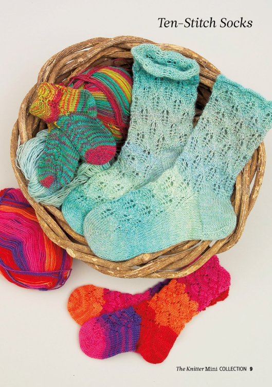 Ten-Stitch Socks by Elizabeth Lovick