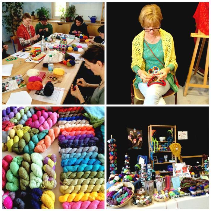 """Workshop """"Granny Squares """" with Heike Gittins"""