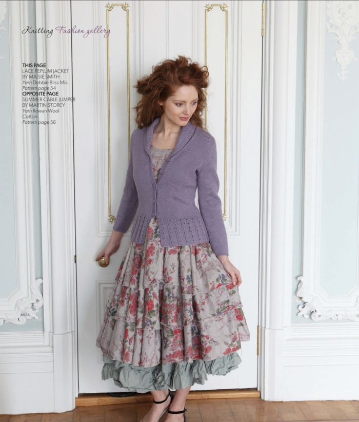 Lace Pleplum Jacket by Maisie Smith