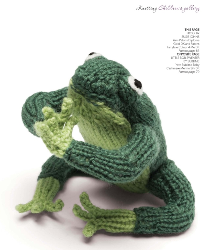 Frog by Susie Johns