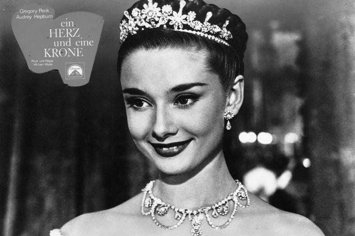 Audrey Hepburn in Roman Holiday (Ein Herz und eine Krone)