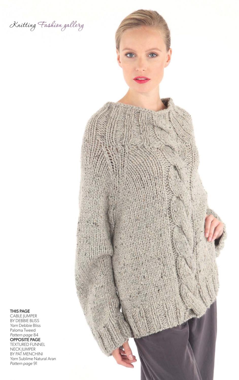 Knitting Magazine October 2014 A Review Knittingkonrad
