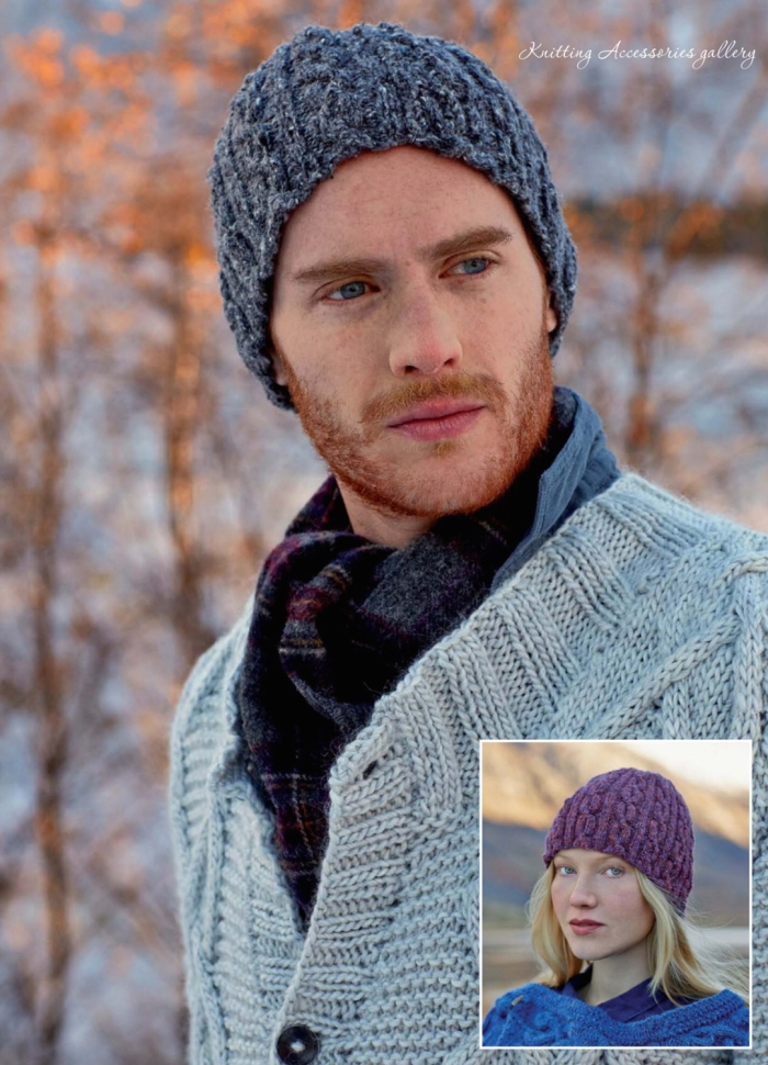 Calder Beanie by Sarah Hatton