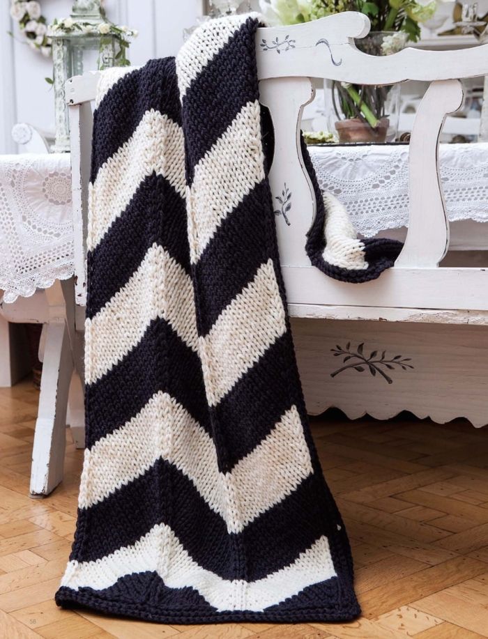 Chevron Throw by Penny Hill
