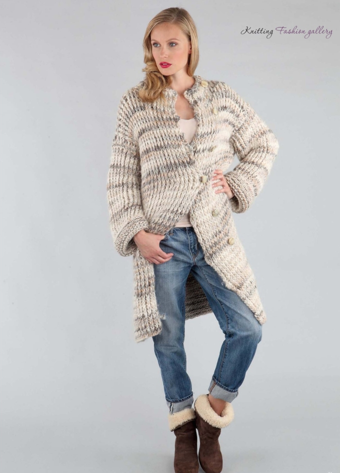 Cocoon Coat by Linda Parkhouse