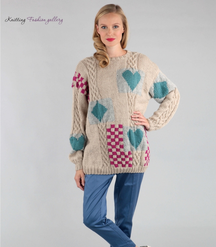 Heart Jumper by Alison Robson