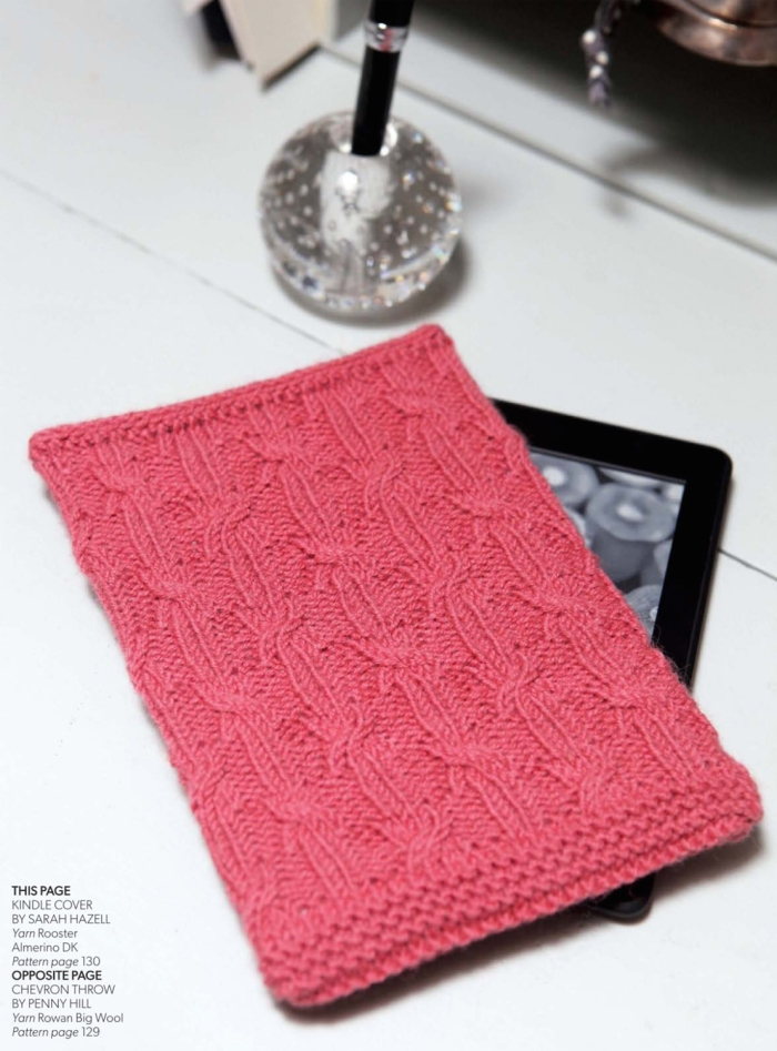 Kindle Cover by Sarah Hazell