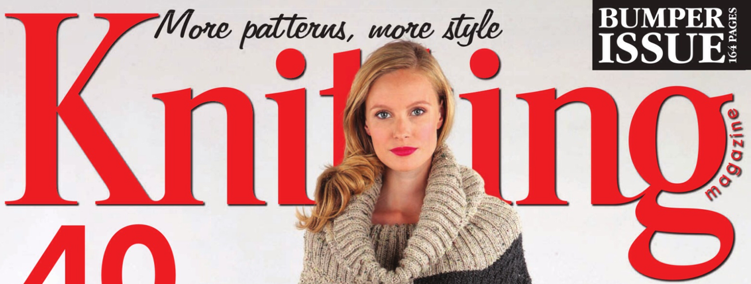 Knitting Magazine October 2014 Front