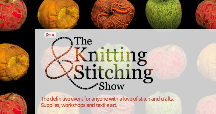 Knit And Stitch Show : The Knitting & Stitching Show at the Alexandra Palace knittingkonrad