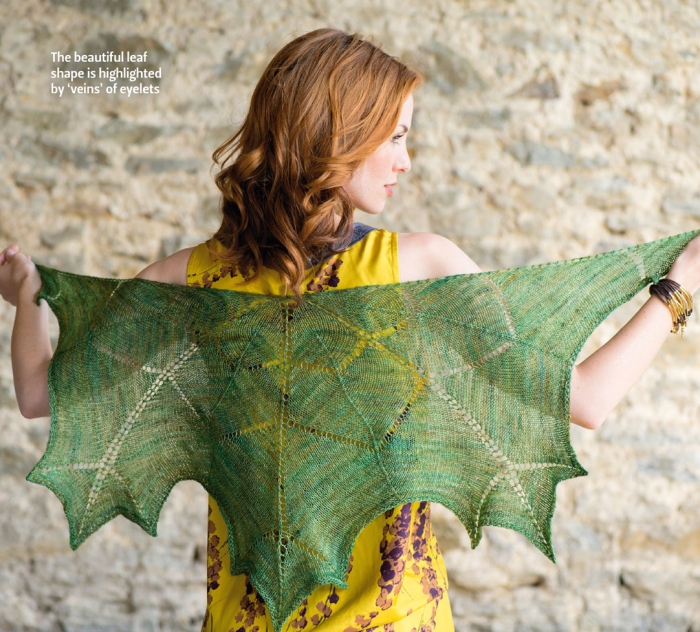 Maria Magnusson - Maple Leaf Shawl