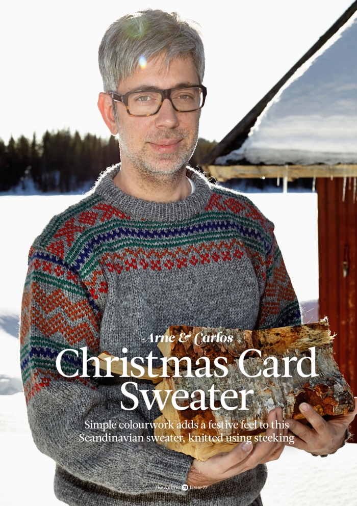 Christmas Card Sweater by Arne & Carlos