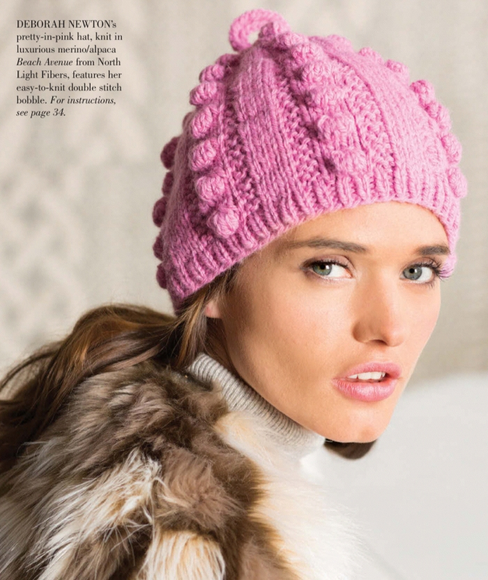 Deborah Newton - Bobble Hat