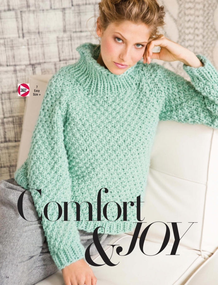 Margeau Soboti - Double Seed Stitch Pullover