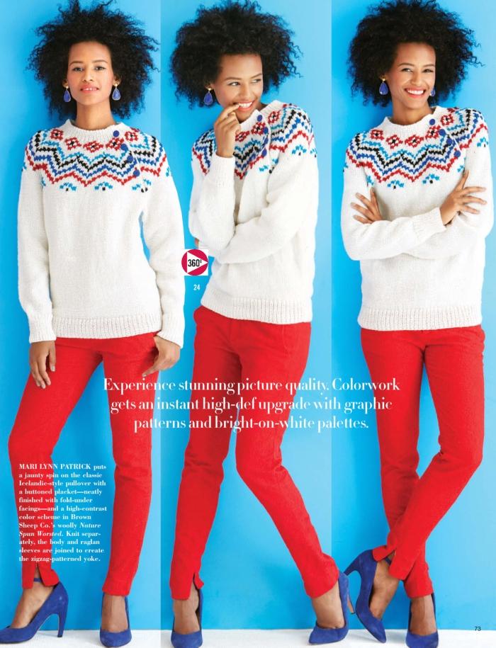 Mari Lynn Patrick - Icelandic-Style Pullover