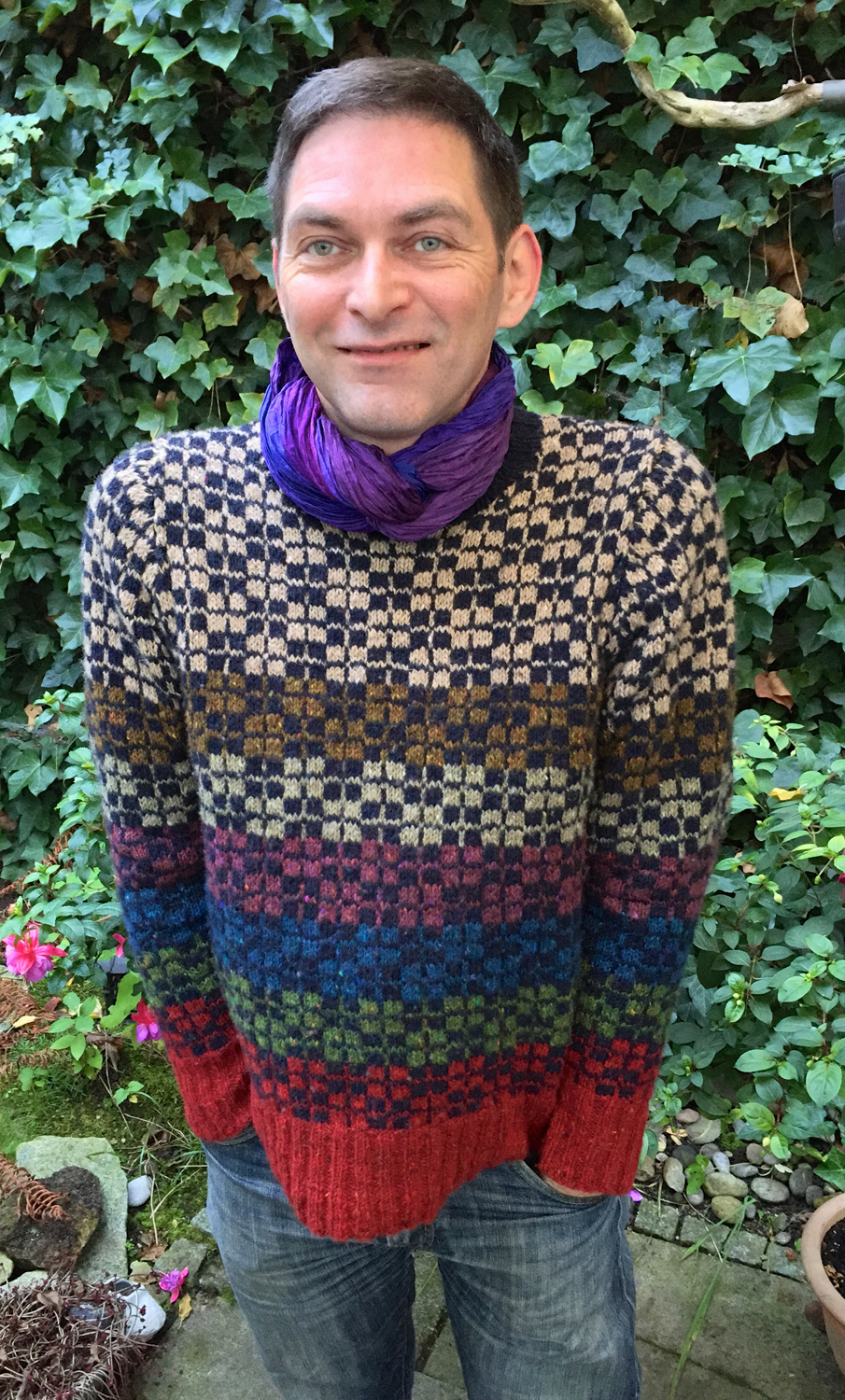 First of the Autumn Knits ~ Ordie by Martin Storey