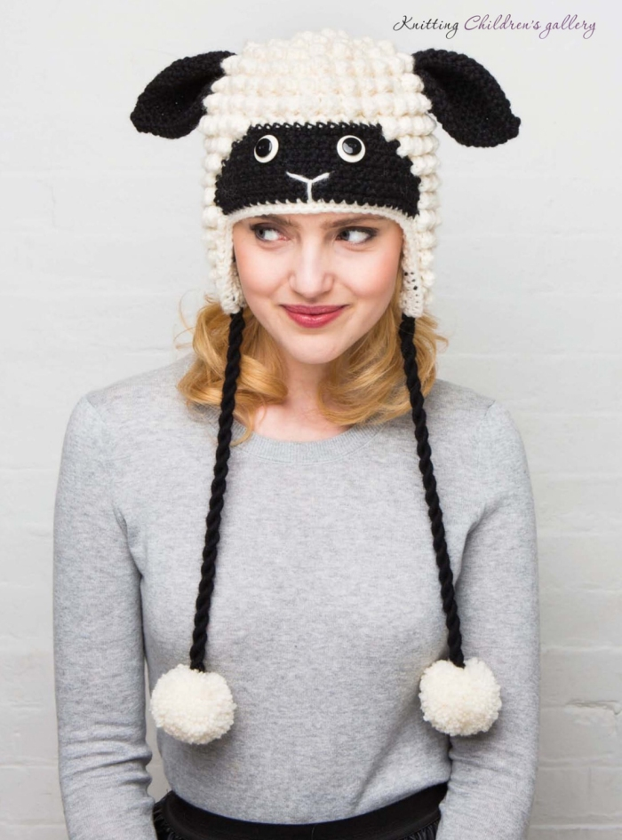 Sheep Hat by Vanessa Mooncie