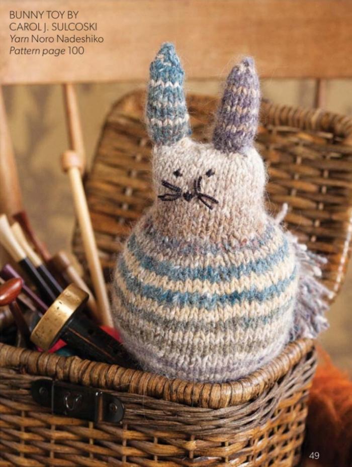 Bunny Toy by Carol J. Sulcoski