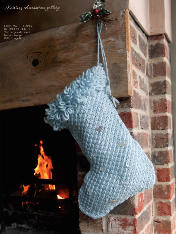 Christmas Stocking by Caroline Birkett