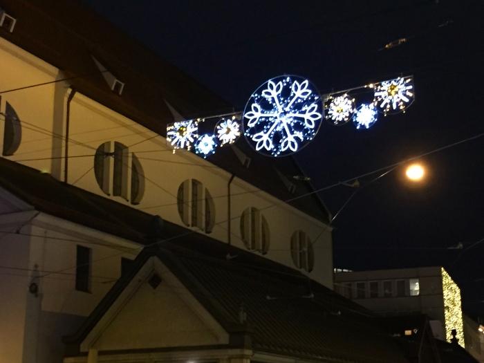 Christmasdecoration, St. Moritz, Augsburg