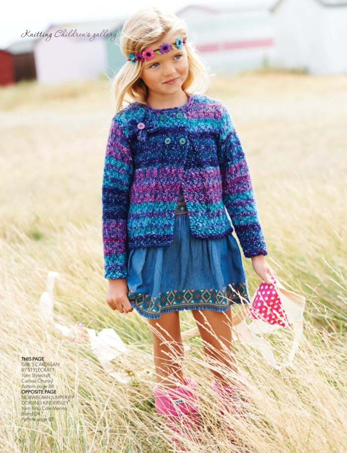 Girls Cardigan by Stylecraft