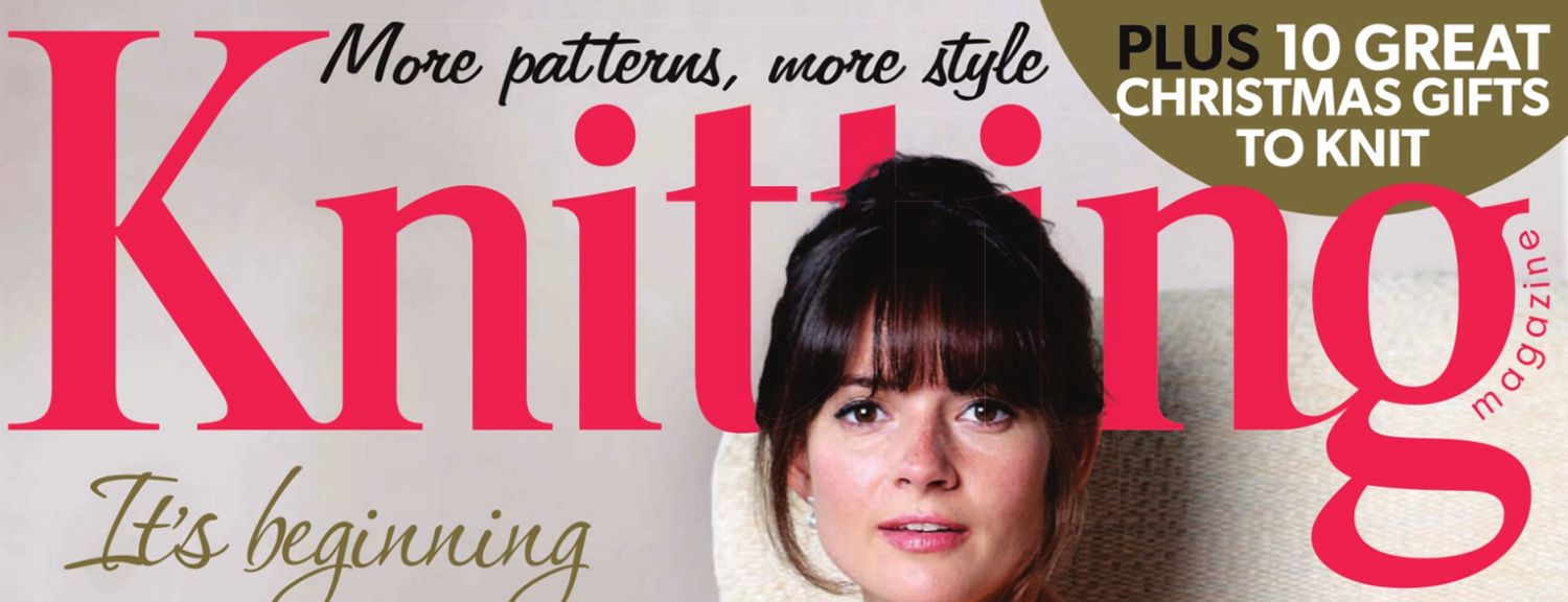 Knitting Magazine Front December 2014