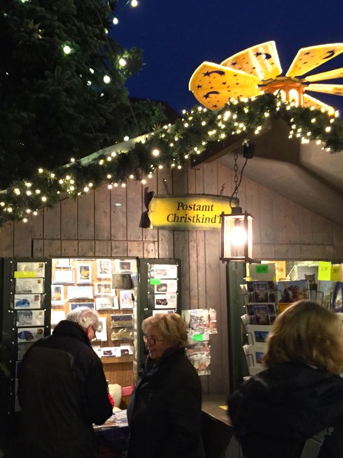 Post Office, Christkindlesmarkt, Augsburg