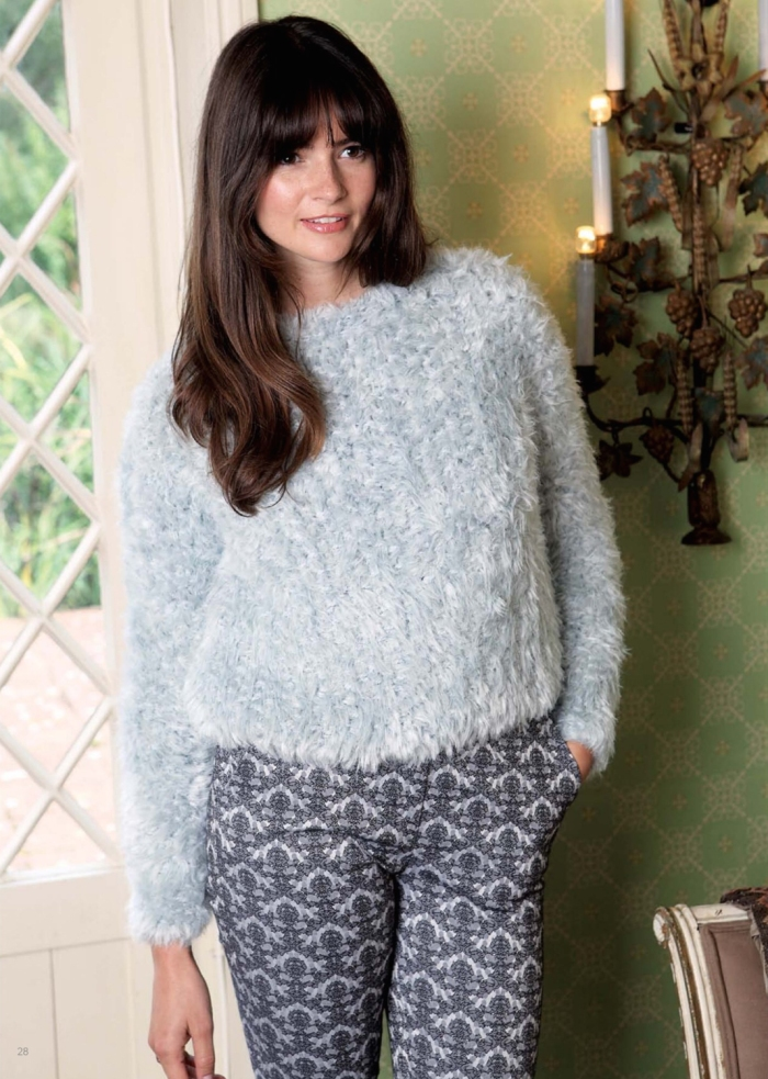 Snowdrops Jumper by Emma Wright
