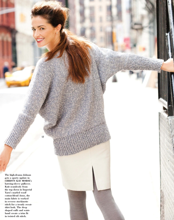 Batwing Pullover by Christy Kay Morse