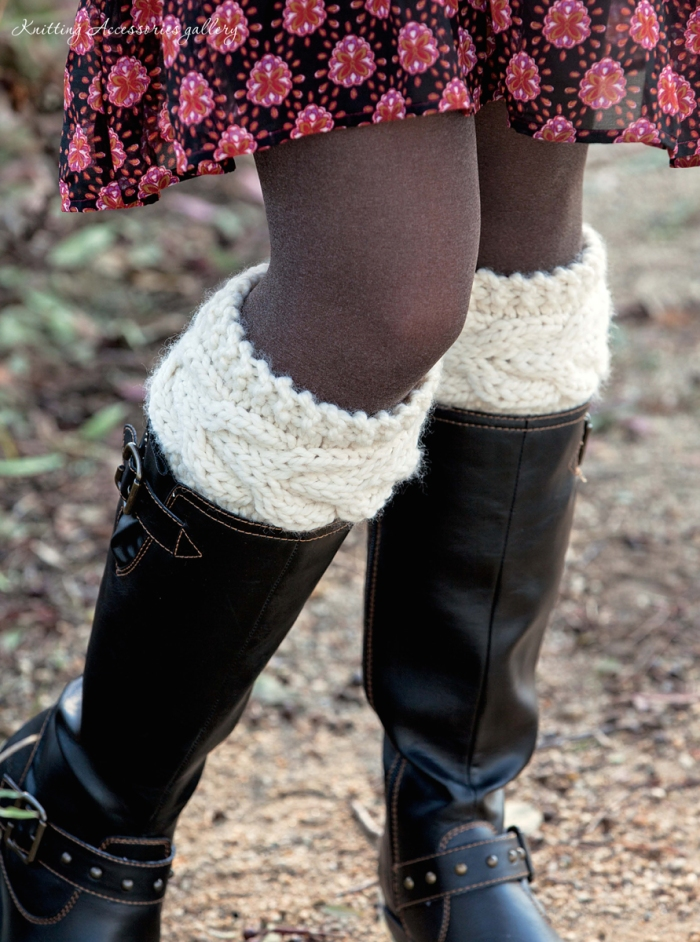 Boot Cuffs by Mindi Lewis