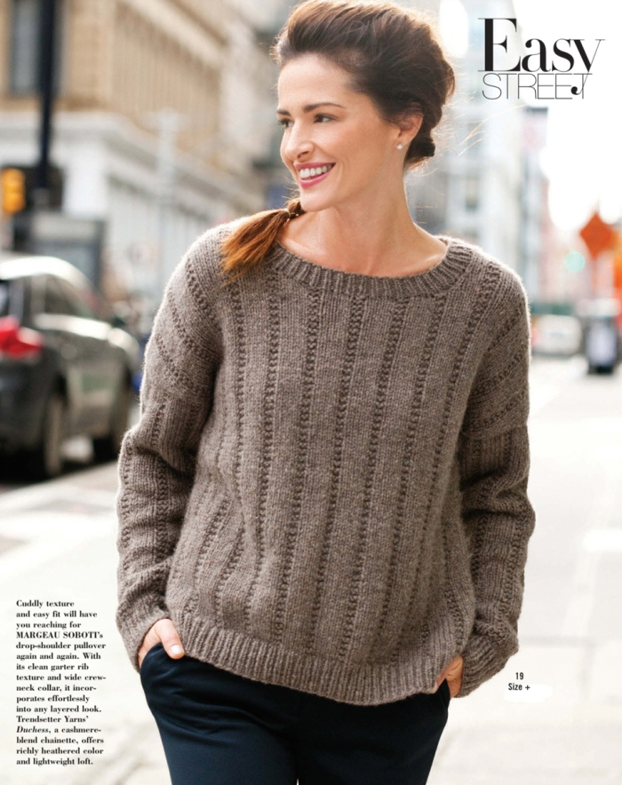 Broken Rib Pullover by Margeau Soboti
