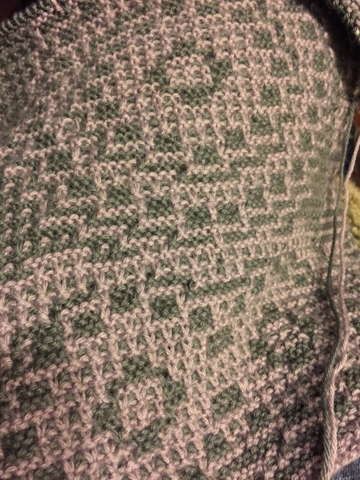 Mosaic Knitting in Rowan Finest
