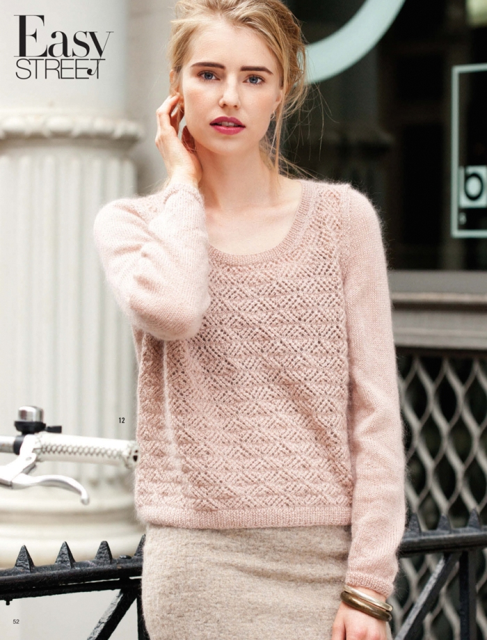 Lacy Pullover by Sarah HattonLacy Pullover by Sarah Hatton