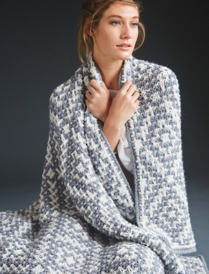 Mosaic Blanket by Susan Lowman