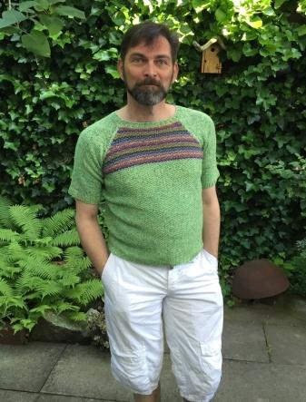 Matcha meets Massa knitted by Konrad