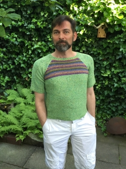 Matcha meets Massa knitted by Konrad