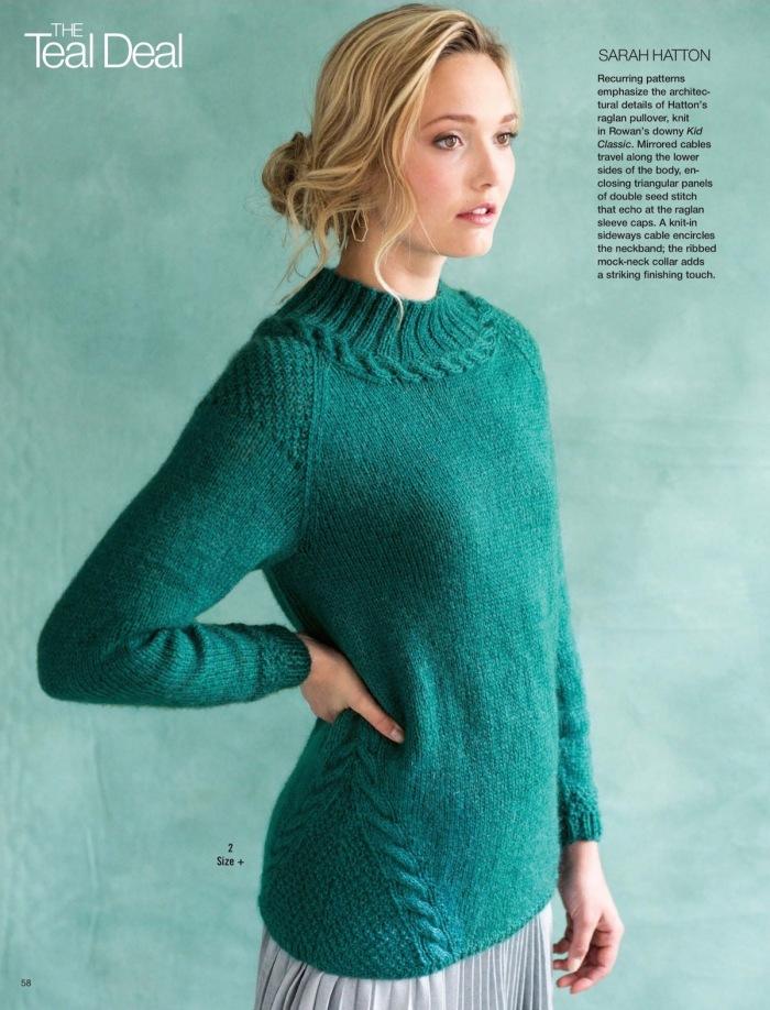 Raglan Pullover by Sarah Hatton