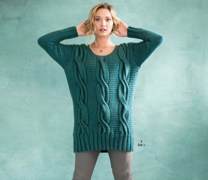 Scoop Neck Pullover by Deborah Newton