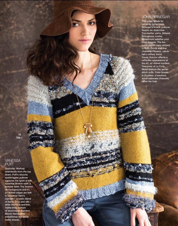 V-Neck Pullover by John Brinegar