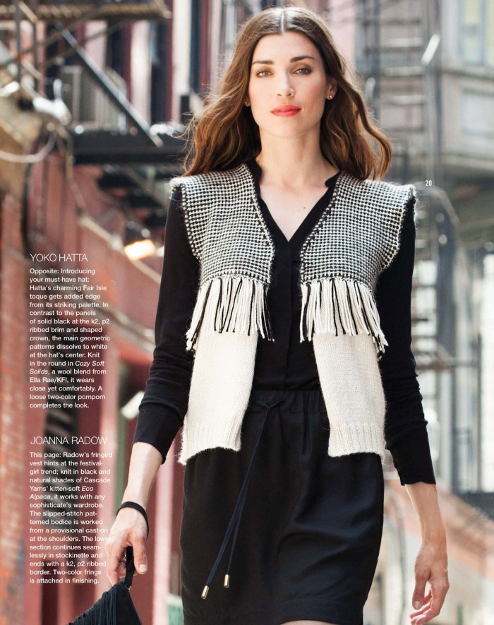 Fringed Vest by Joanna Radow