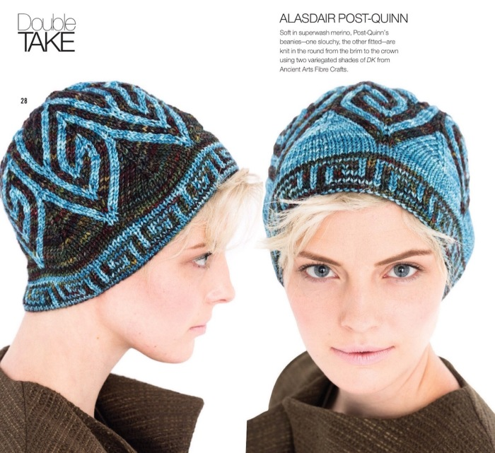 Double-Knit Beanie by Alasdair Post-Quinn
